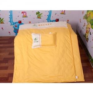 贝比佳/幼儿园全棉六件套/大黄迷离-369图片