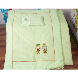 贝比佳/幼儿园全棉六件套/迷你红方-929图片